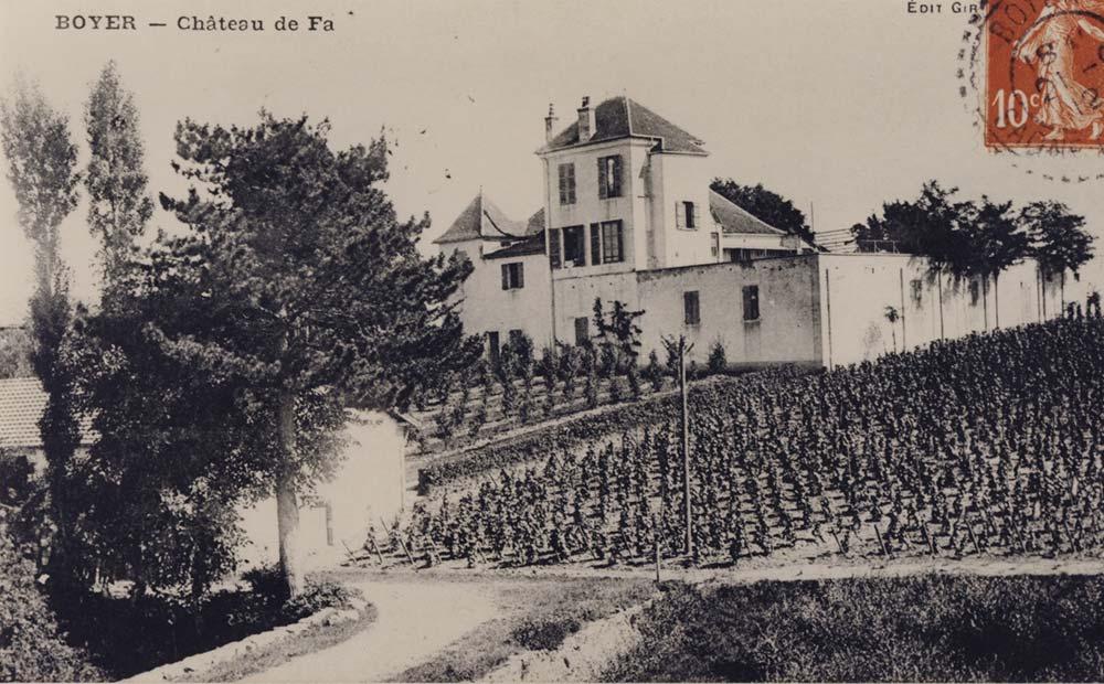 Chateau De La Faye 1912
