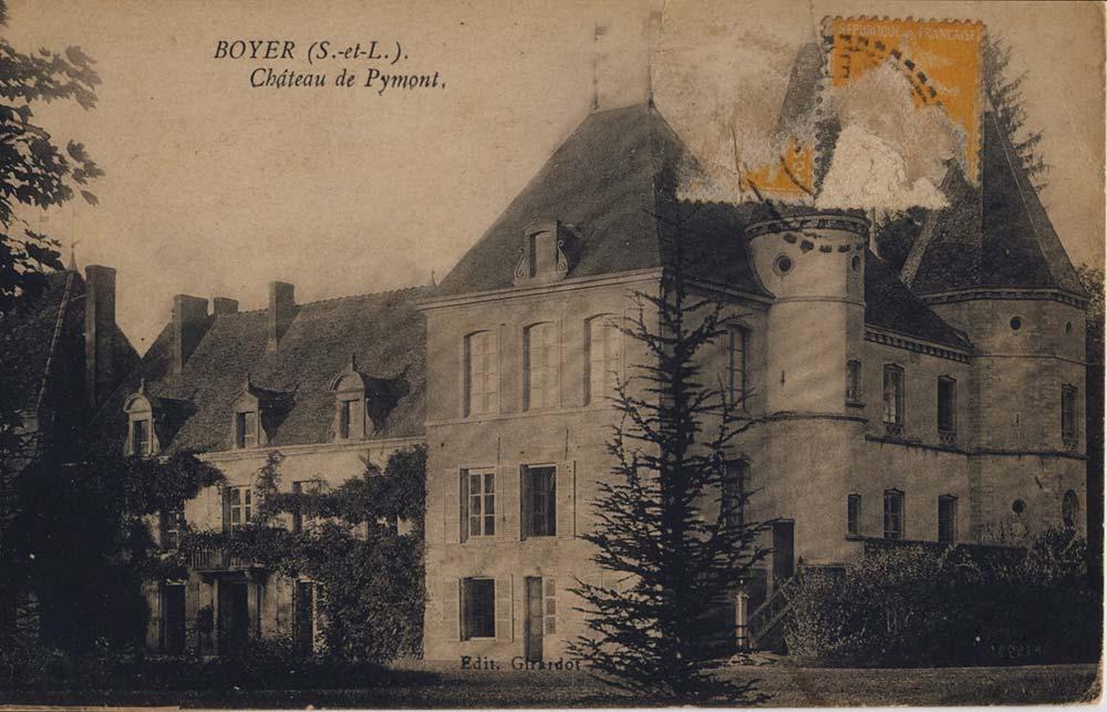 Château de Pymont  1923