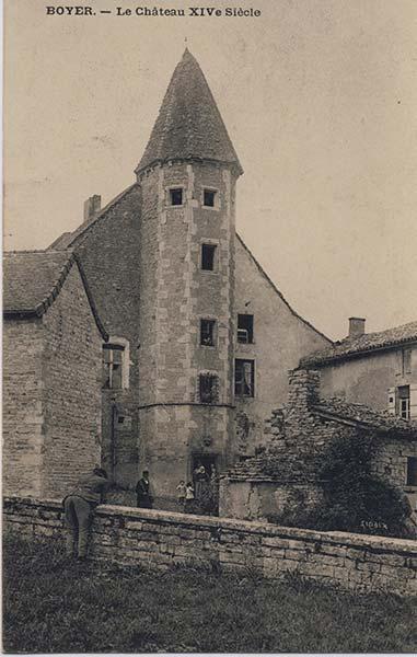 Chateau de St-Loup du 14è s.