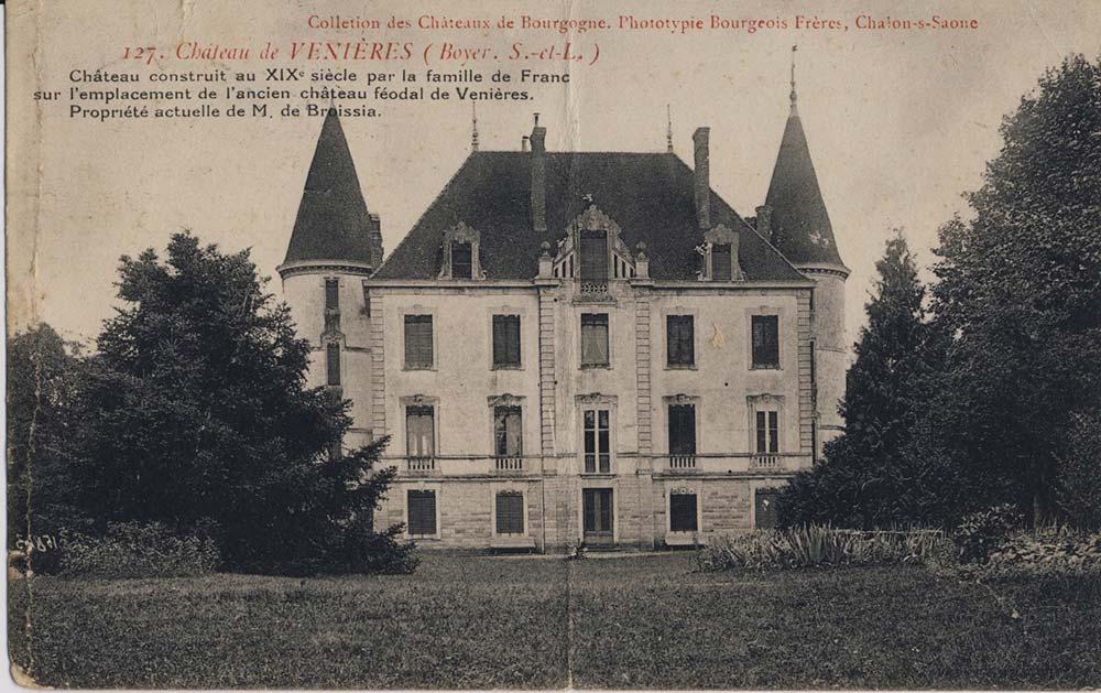 Château de Venières Broissia